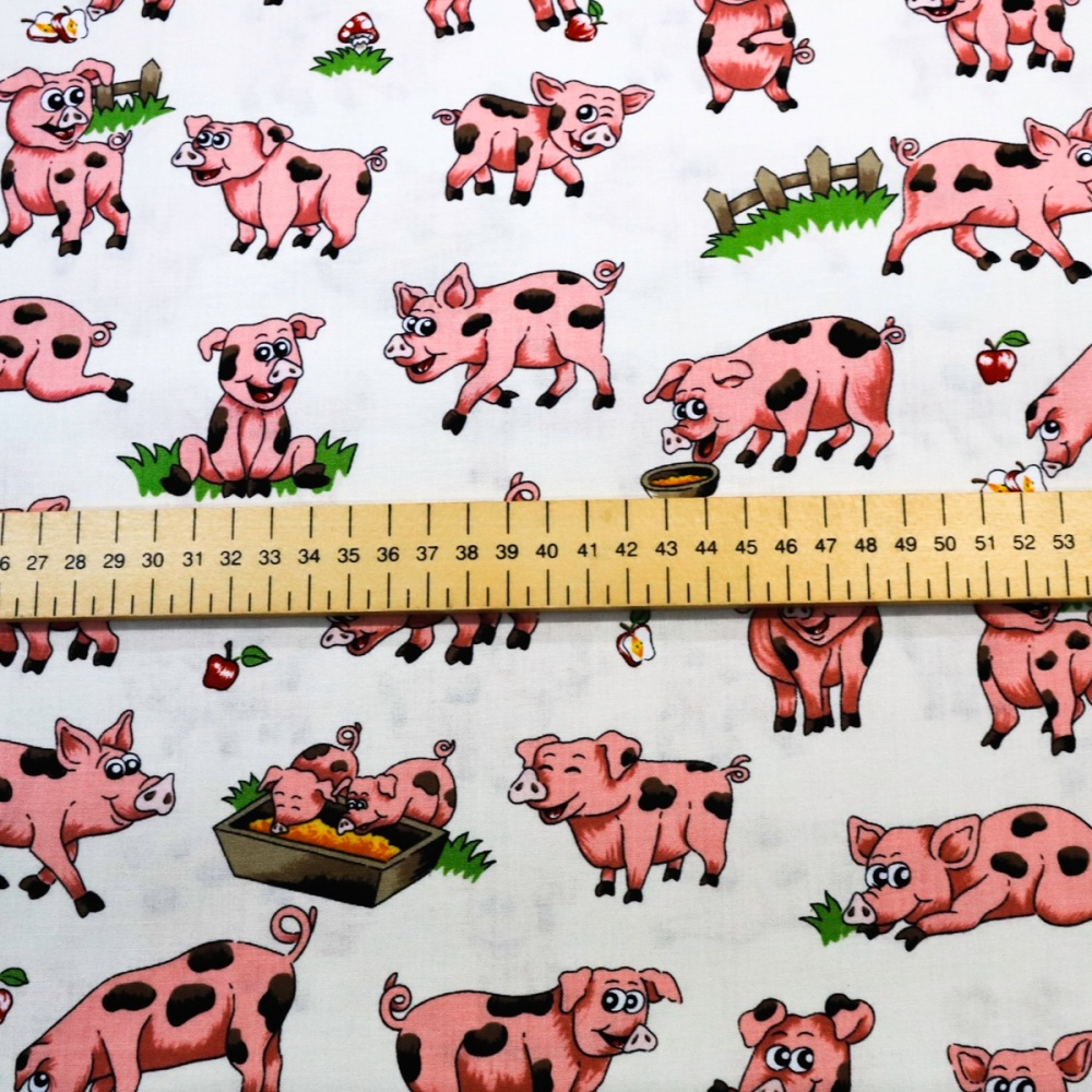 Pigs in Pen -per half metre