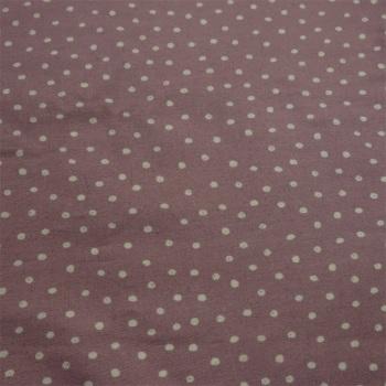 100% Dusky Lilac Spot by Lewis & Irene - 70cm piece