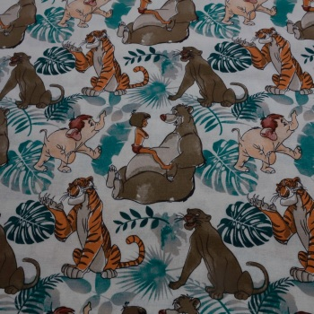 100% Cotton Disney Jungle Book - 80cm piece