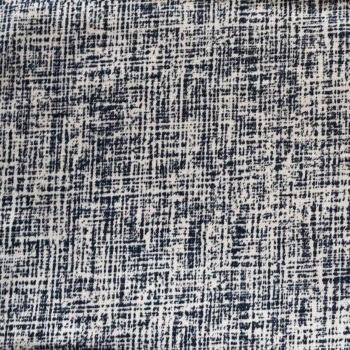 100% Cotton Black & Cream print - 1.15 metre piece