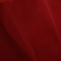 Dress nett - Red - per metre