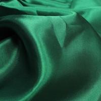 Green Poly Satin