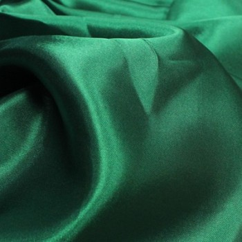 Green Poly Satin