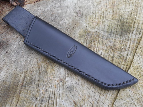 BESPOKE - Hand Stitched Leather Low Ride Bushcraft Knife Sheath