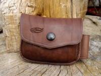 Leather-1oz-drum brown-possibles pouch