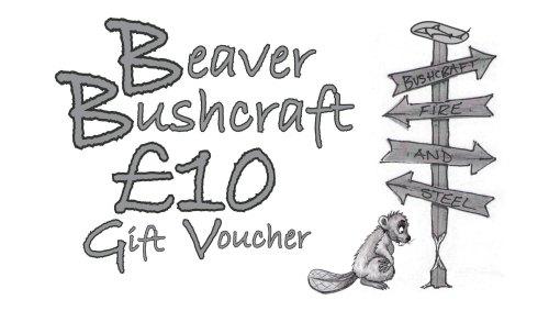 Beaver Bushcraft - £10 Gift Voucher (10-1010)