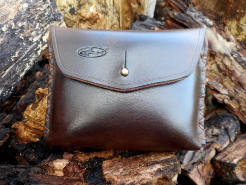 HAND STITCHED - Leather 'The Outback' Possibles Pouch  (45-)