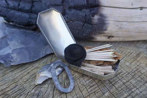 Beaver Bushcraft - 1700 'Trappers' Tinderbox - German Silver (85-2020-GM)