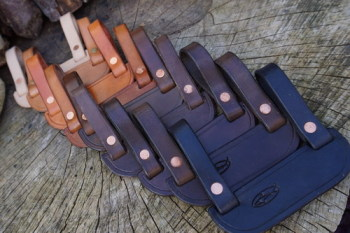BESPOKE - Low-Ride 'Scandi-Style' Leather Pouch Adaptor - Belt Loop Width: 70mm & 90mm (45-9510)