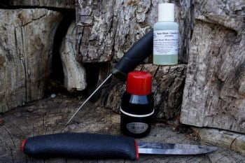 Sarpening- 50ml Camellia Oil and Abura Tsubo Oil Aplicator for Beaver Bushc