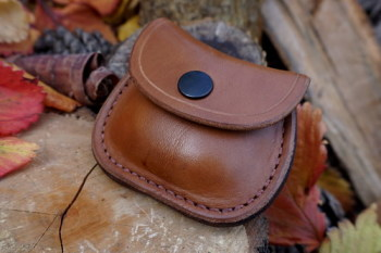leather-R2G-natural pocket pouch with belt loop1