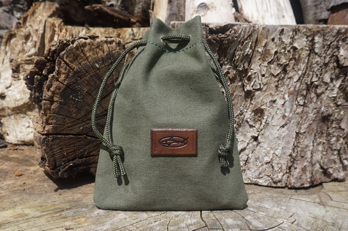 Beaver Bushcraft -  Drawstring Heavy Canvas Tote Bag - Small