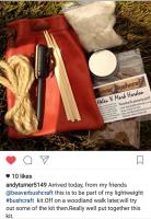 Andys ferro rod fire lighting kit