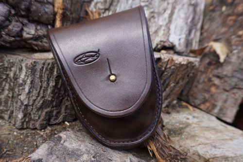 SECOND - Brown Leather Hudson Bay 'Possibles' Pouch (45-4740-2)