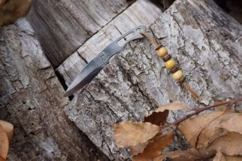 Cutting 2 fingered beaver necker knife BSK19 for beaver bushcraft