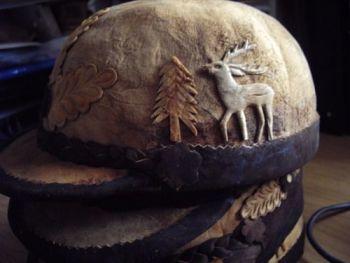 4 Amadou hats