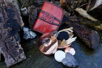 Fire and leather valentines Hudson bay pioneers pouch for beaver bushcraft