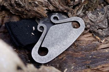 Fire viking fire steel by flint and steel made by beaver Bushcraft