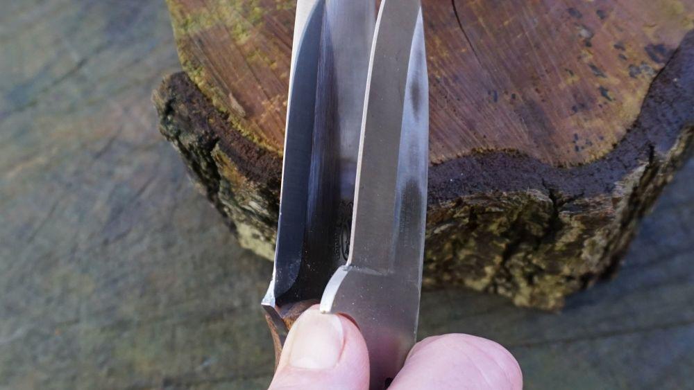 E) Both Blades Sides