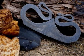fire crane and snake fire steels for beaver bushcraft