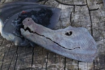 fire crocodile fire steel fantasy flint and steel by beaver bushcraft