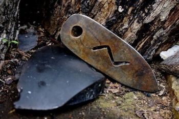fire flint and steel rune for traditional fire lighting by beaver bushcraft
