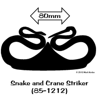 85-1212 Snake and Crane Striker (85-1212)