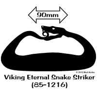 85-1216 Viking Eternal Snake Striker bw