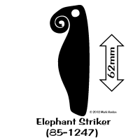 85-1247 Elephant Striker bw