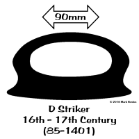 85-1401 D-Striker 16th - 17th Century (85-1401) bw