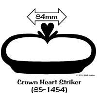85-1454 Crown Heart Striker (85-1454) bw