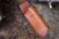 BESPOKE - Leather Folding Saw Sheath for Laplander or Silky Saw - SADDLE STITCHED (45-4200)