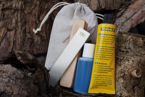 Standard Field Sharpening Kit with Canvas Bag