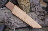 BESPOKE - Leather Bushcraft Knife Sheath for Mora Knives - Low Ride - SADDLE STITCHED (45-4020)