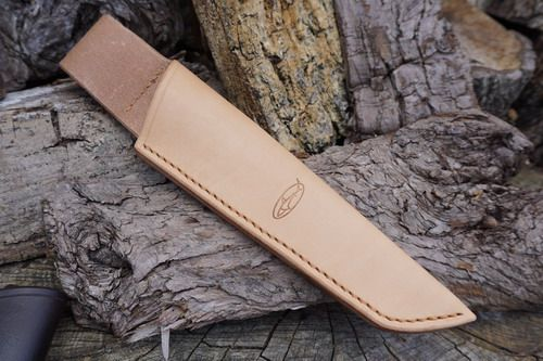 BESPOKE - Leather Bushcraft Knife Sheath for Mora Knives - Low Ride - SADDL