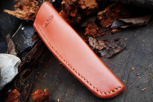 BESPOKE - Leather Mora Carving Tool and Small Bushcraft knife Sheath - SADD