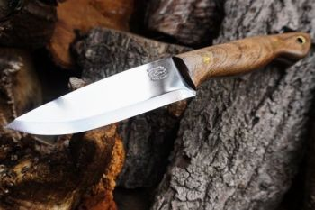 Cutting beaver bushcraft & survival knife for website