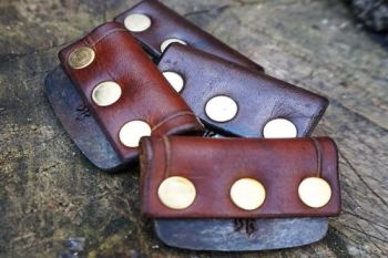 Leather - 'Pirate' Style - Traditional 'Flint & Steel' Striker (85-1511)