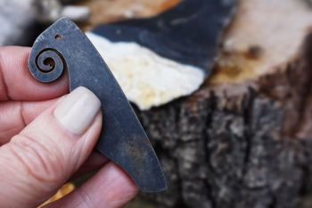 Elephant/Curly 'P' Striker - Traditional 'Flint & Steel' Fire Striker (85-1247)