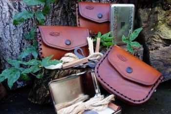 Fire & leather flanders tinderbox for beaver bushcraft website
