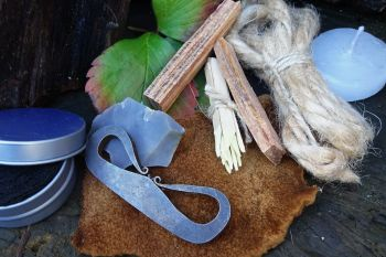 fire tinder kit for flanders tinderbox by beaver bushcraft