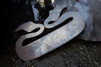 SAMPLE SALE Two Leaf Viking Styled Striker - Traditional 'Flint & Steel' (85-1502)