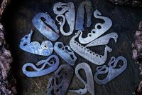 fire dragon and animal fire traditional fire steels for beaver bushcraft