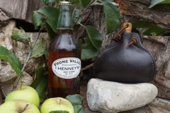 Leather- Bottle-Handmade tuder style from the Mary Rose for Beaver Bushcraf