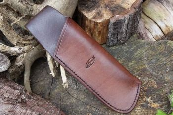 Leather. Ready made laplander saw sheath by beaver bushcraft