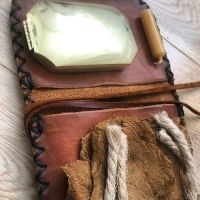Bushcraft Boy Jones & beaver Bushcrat pioneering pouch