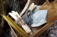 Beaver Bushcraft - Traditional 'Flint & Steel' Tinderbox with Full Fire Lighting Kit (85-3001)