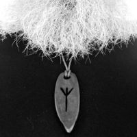 of his rune pendant fire steel from beaver bushcraft