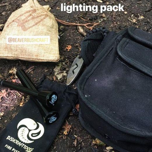 The salt Box Uk on instgram with beaver bushcraft products