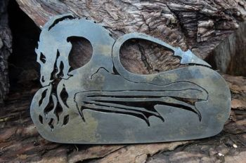 Fire traditional dragon fire steel large size by beaver bushcraft